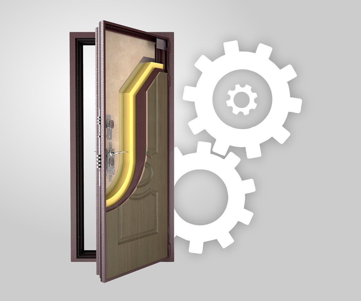 Собери свою дверь!