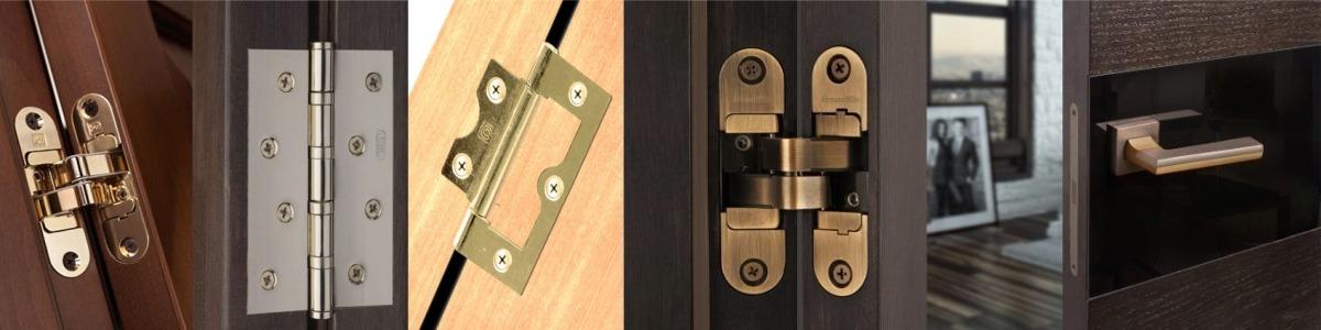 Какие петли выбрать для межкомнатной двери
